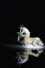 Scene from Wozzeck (Munich 2008) [Photo Wilfried Hoesl, courtesy Bayerische Staatsoper]