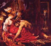 Samson et Dalila by Petrus Paulus Rubens (1609-10)