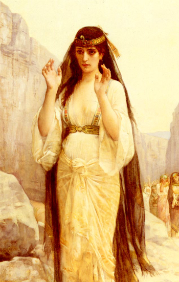 The Daughter of Jephthah by Alexandre Cabanel (1879) [Source: WikiPaintings]