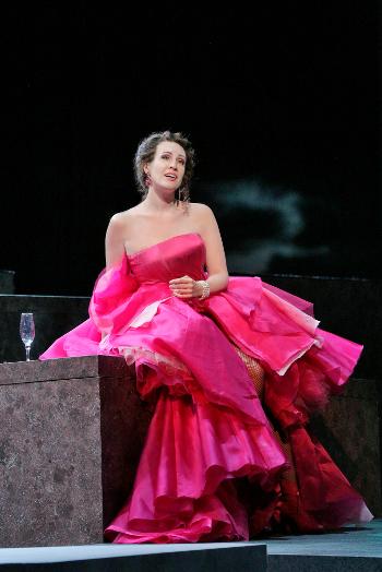 Brenda Rae as Violetta [Photo by Ken Howard courtesy of Santa Fe Opera]